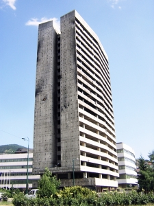 Jamie Northup, Former Parliament Building in Sarajevo, 2004