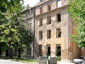 Kelly Chroninger, Damaged Building, 2004